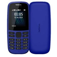 Телефон Nokia 105 Dual sim (2019) Cyan