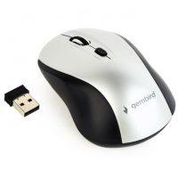 Мышь Gembird MUSW-4B-02-BS black/silver