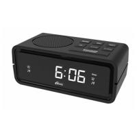 Радиобудильник Ritmix RRC-606 Black
