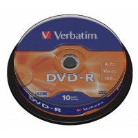 Диск DVD-R Verbatim 43523 4.7Gb