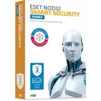 ПО ESET NOD32 Smart Security Family 3 устройства/1 год