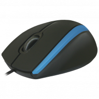 Мышь Defender MM-340 Black/Blue USB