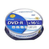 Диск DVD-R Esperanza 4.7Gb 10шт.